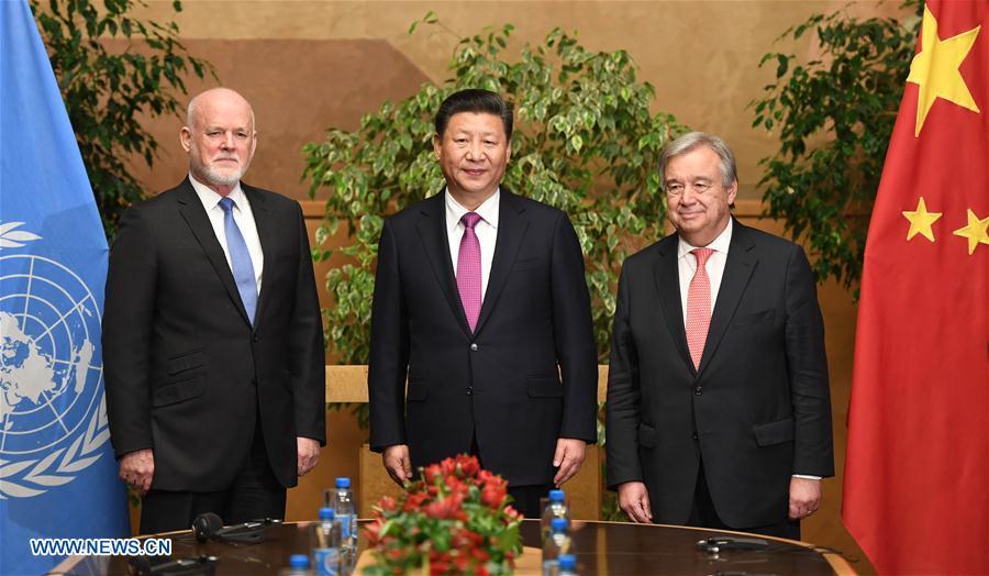 Xi in geneva