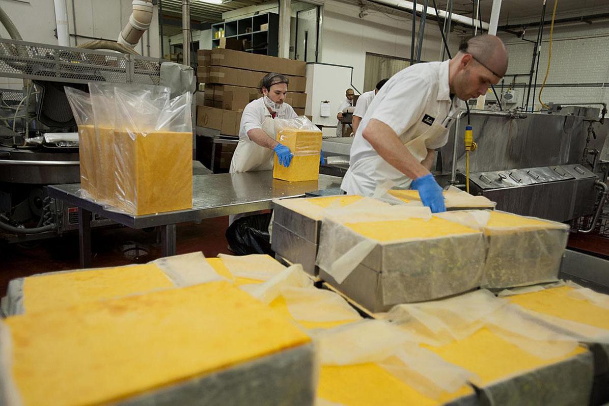 Cheesemakers hit by tariff dispute