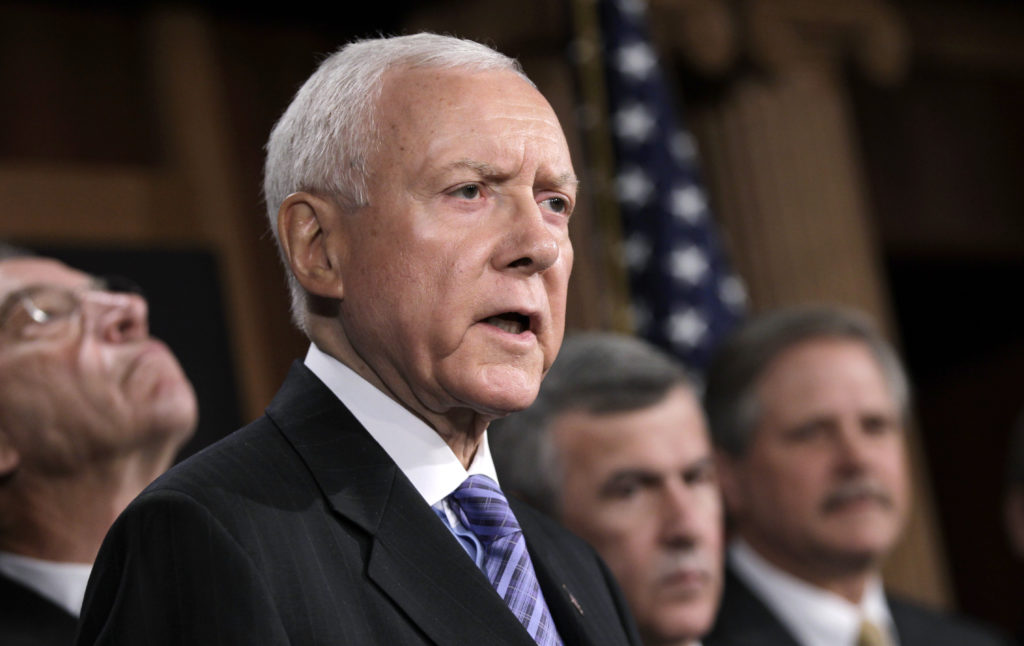 Us senator hatch urges trump administration to change course on tariff policy