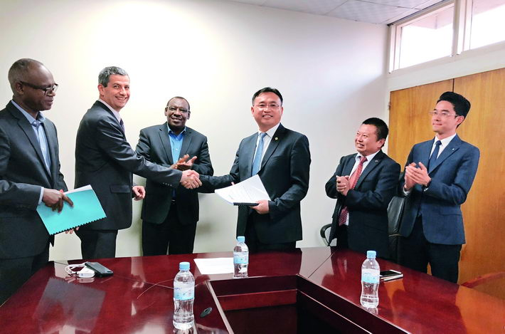 June 6, 2018: STECOL signs a commercial contract to construct the Nyabarongo II Power Station. It is the largest project in terms of contract amount in Rwanda since the country gained independence in 1962.  courtesy of STECOL Corporation