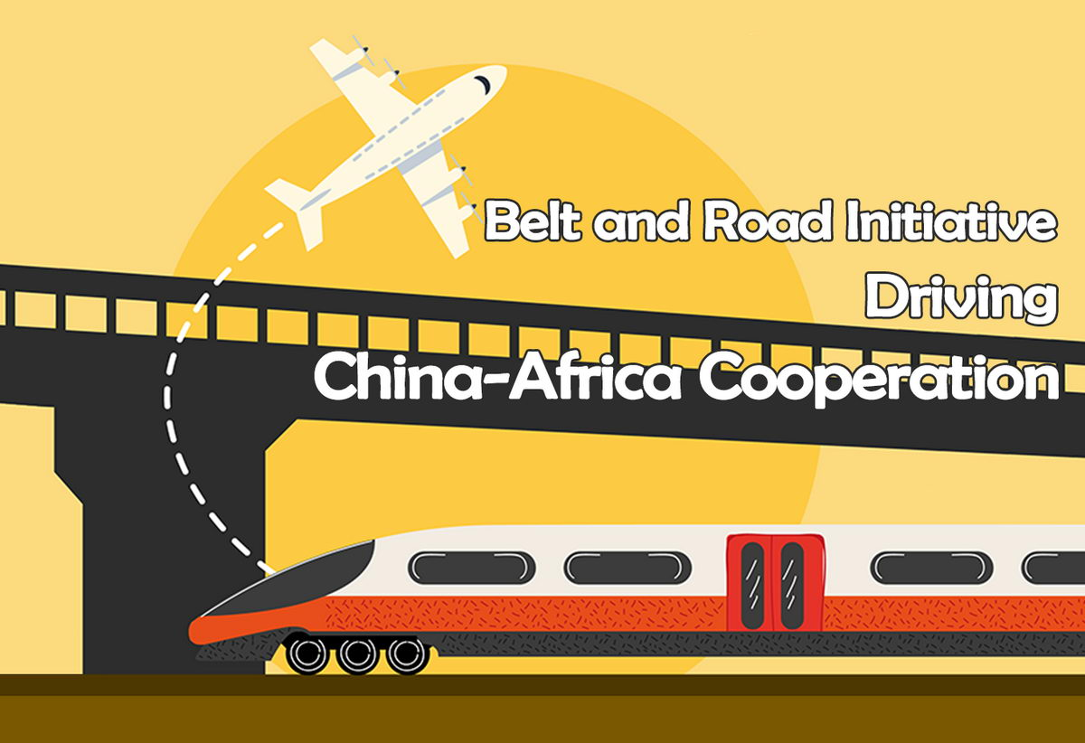 Infographic belt and road initiative driving china africa cooperation featured image