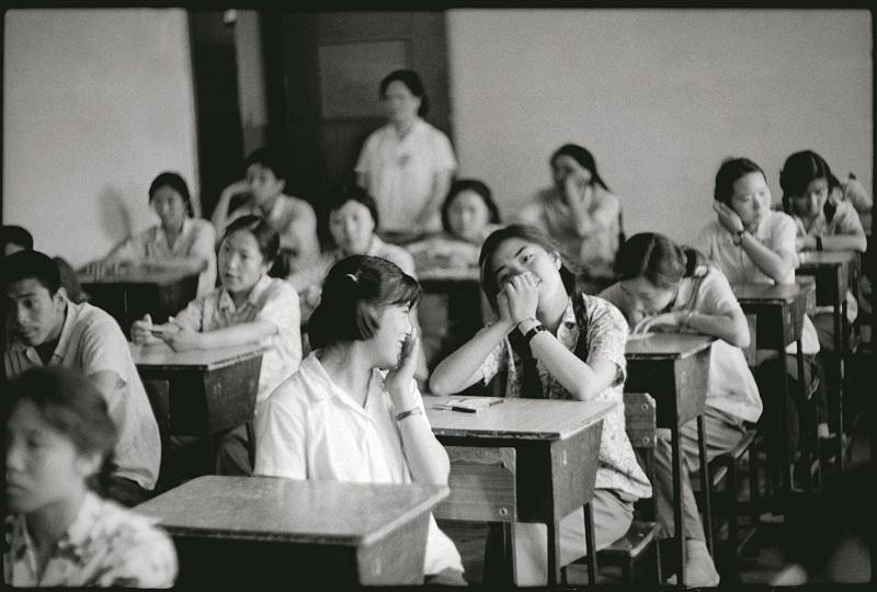 作品 八十年代中学生 北京七十五中学考场 1980年7月8日